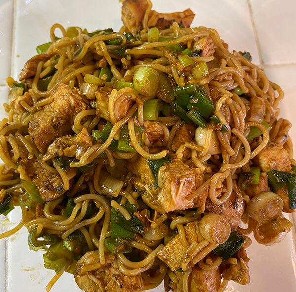 Hoisin Chicken & Ramen Noodles