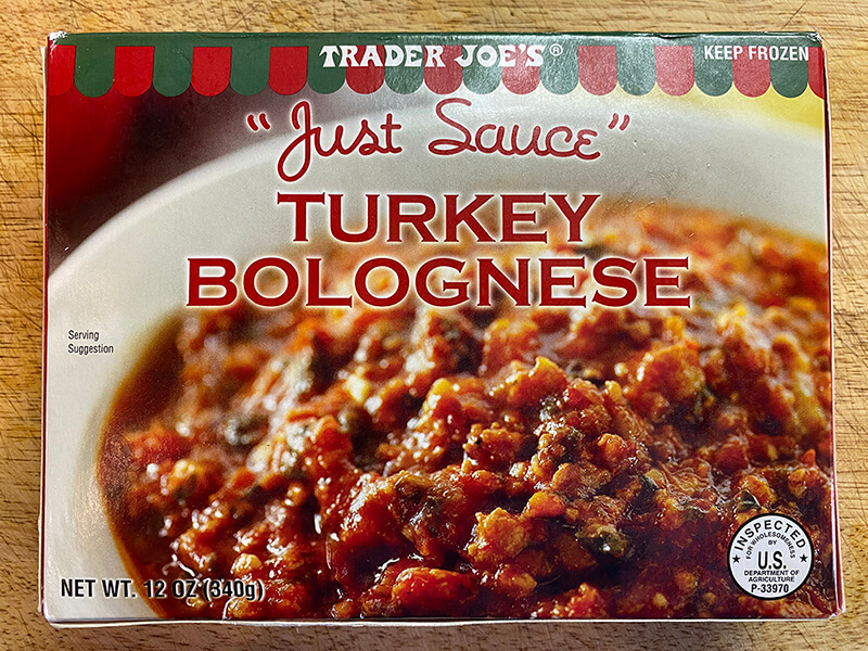 Fast and Easy Turkey Bolognese