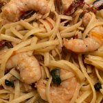 Garlic Shrimp with Sun Dried Tomatoes