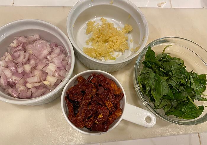 ingredients for shrimp scampi