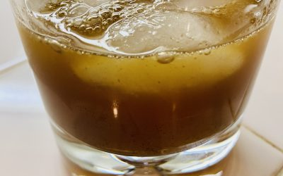 Fall Maple Syrup Spiced Rum Drink